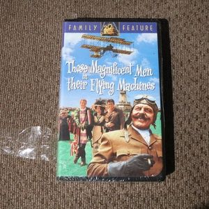 Magnificent Men and Their Flying Machines VHS